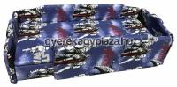 R70 - Kék-STARWARS, normál /BALOS/ +dupla szivacs, + 3 cm támla magasítás