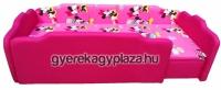 R79 - Pink-Minnie extra /JOBBOS/ + dupla szivacs, + 3 cm támla magasítás, +levehető leesésgátló